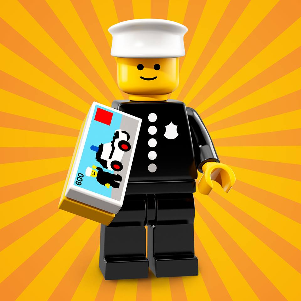 CMF18 Classic Police Officer