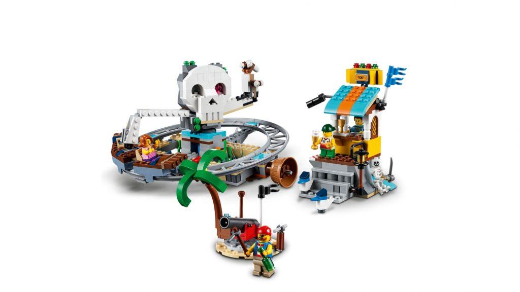 31084 Pirate Roller Coaster Alternate 1