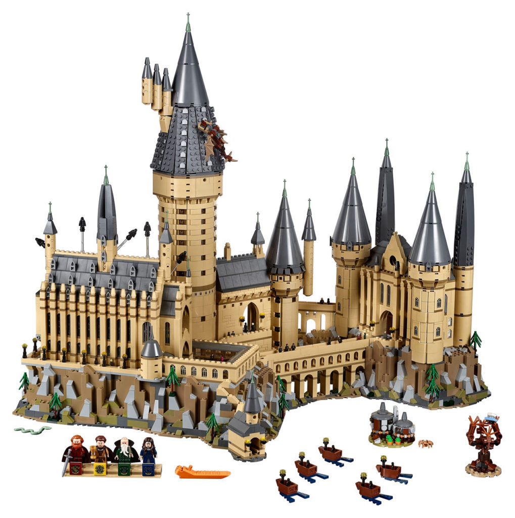 Lego Harry Potter Microscale Hogwarts Castle Minifigures Microfigures 71043