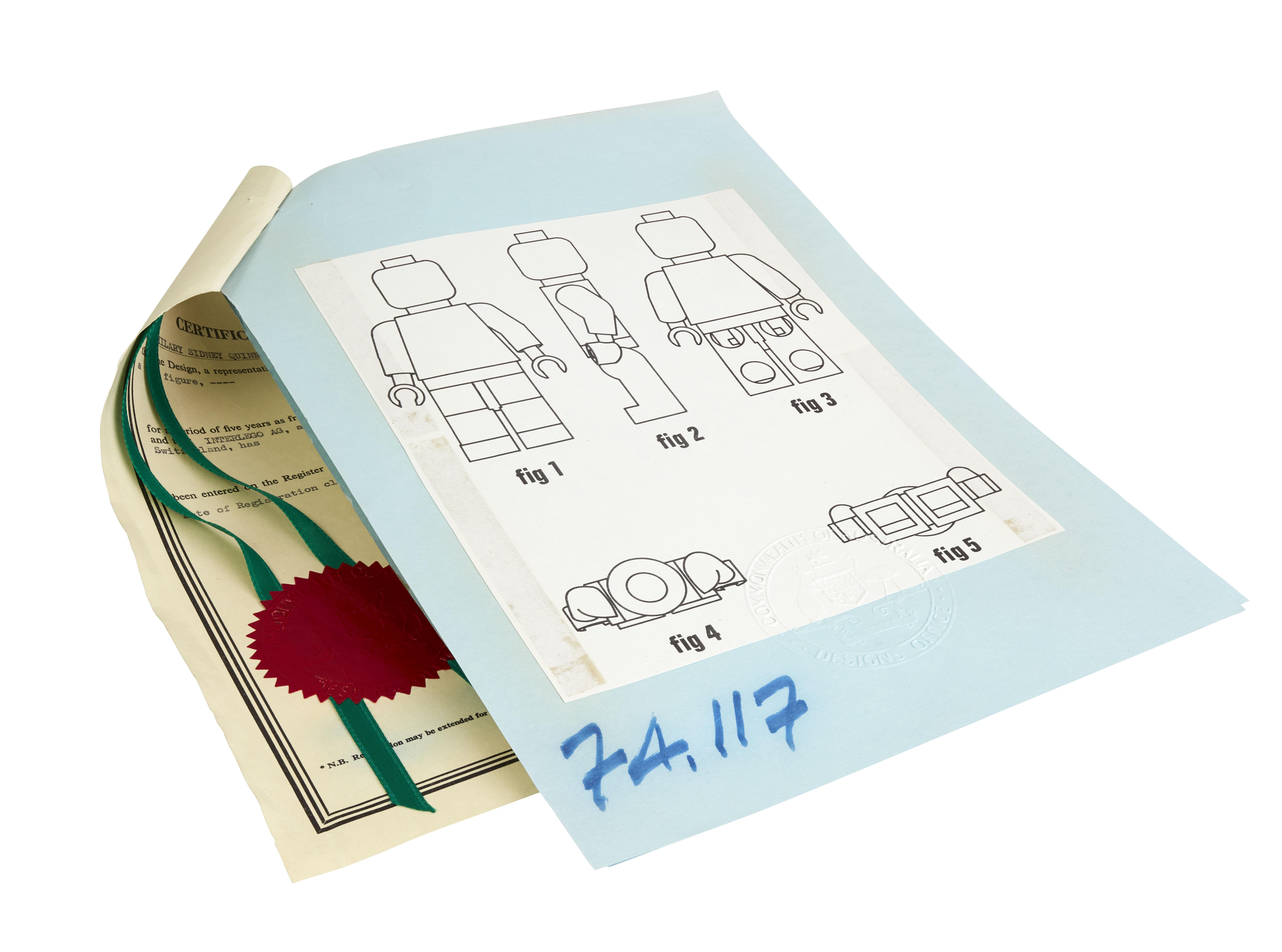 Australian Minifigure Patent