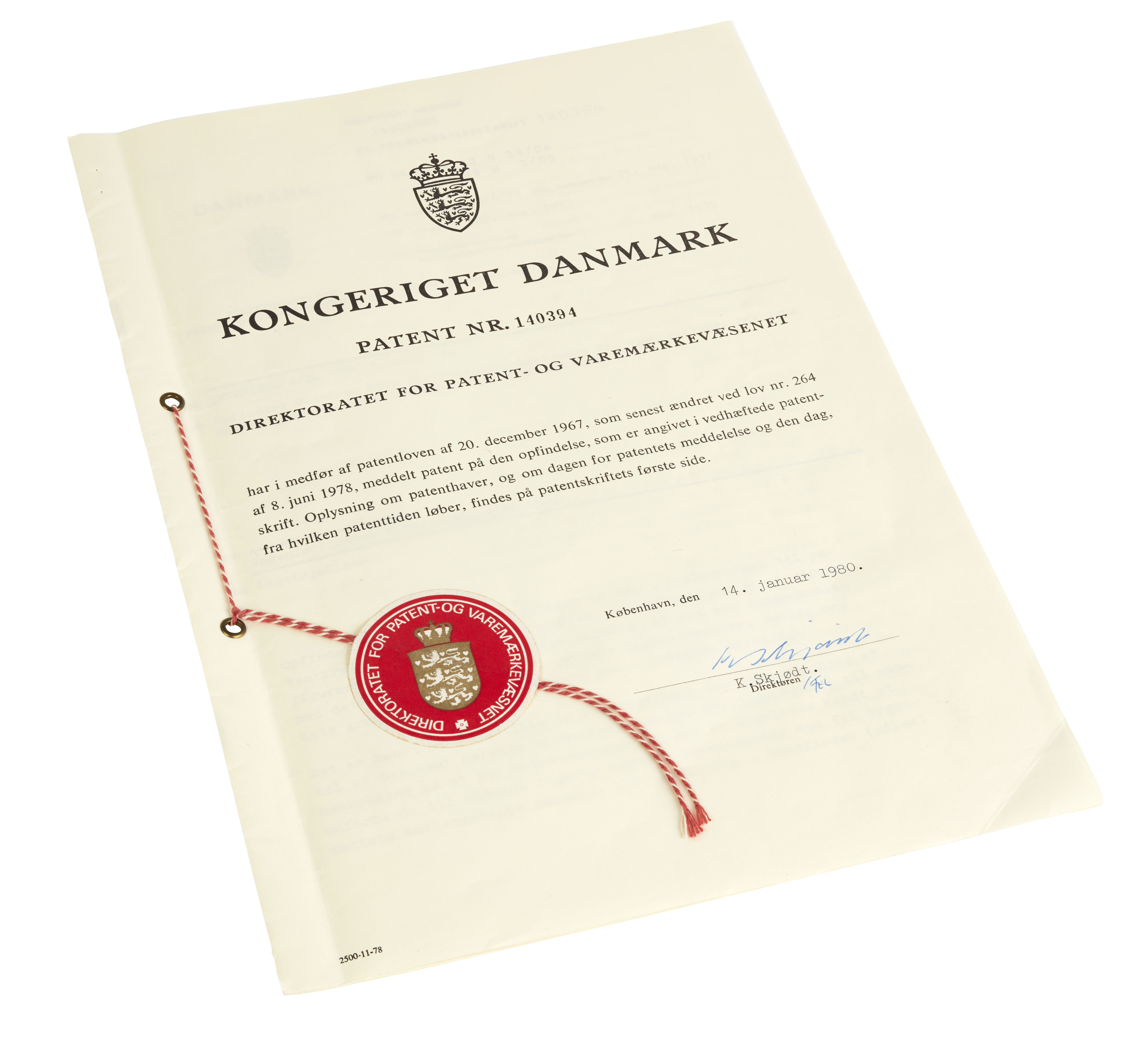 DK Minifigure Patent 1977