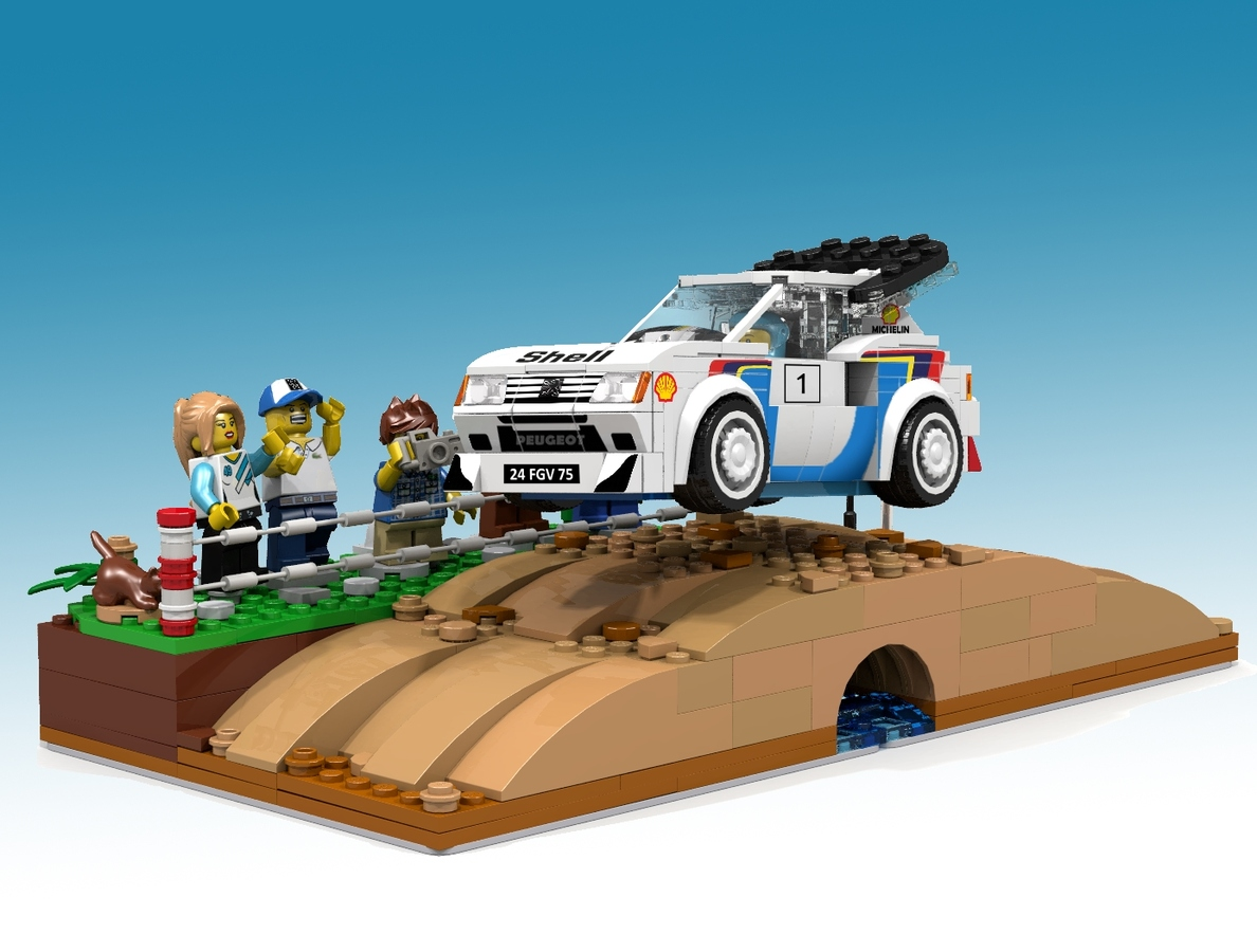 Peugeot 205 Turbo 16 Lego Speed Champions - AbFab1974