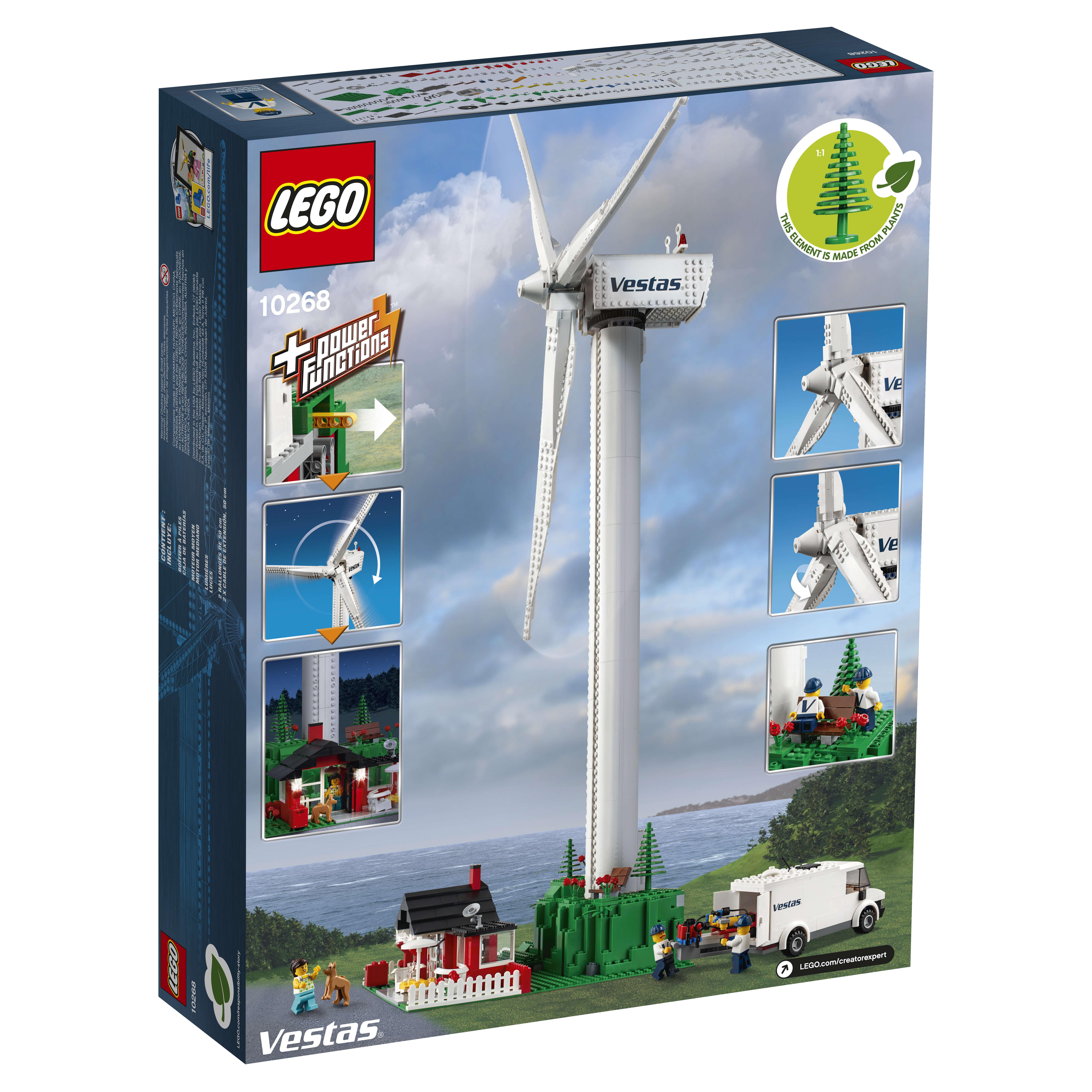 10268 Vespas Wind Turbine
