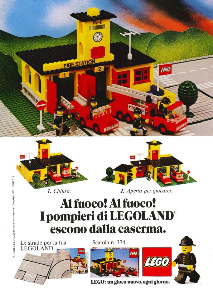 LEGO Town Ad 1972