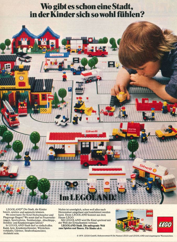LEGO Town Ad 1979