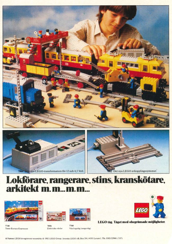 LEGO Town Ad 1982