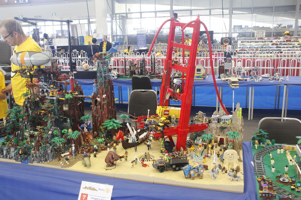 Land of the Lost - Bricktober Perth 2017