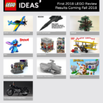 LEGO Ideas 2018 Stage 1 Review