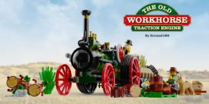 Old Workhorse Traction Engine - LEGO Ideas