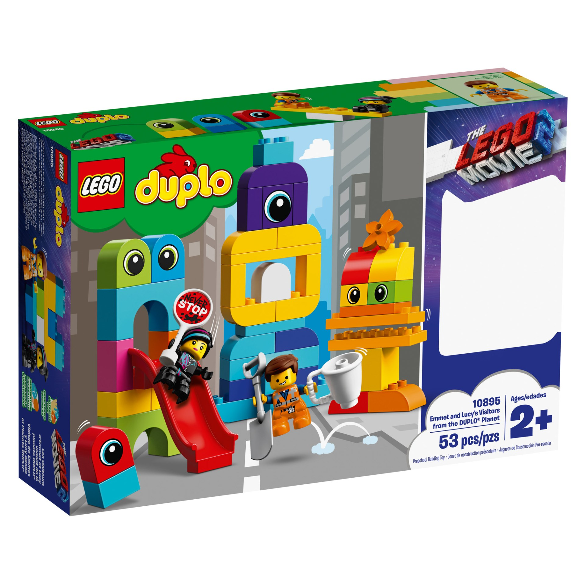 10895 — Emmet and Lucy's Visitors from the DUPLO® Planet