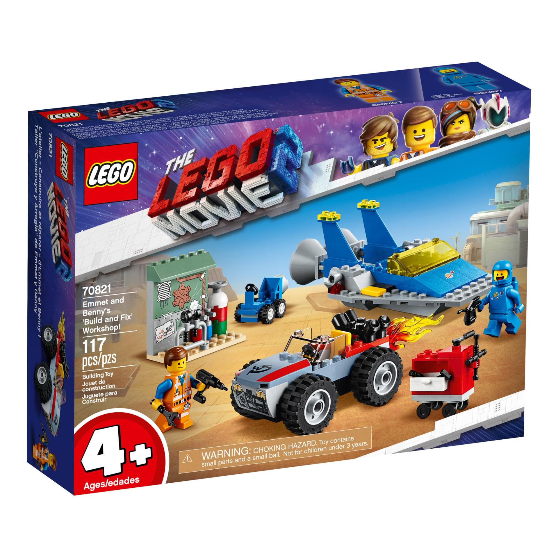 70821 — Emmet and Benny's 'Build and Fix Workshop'