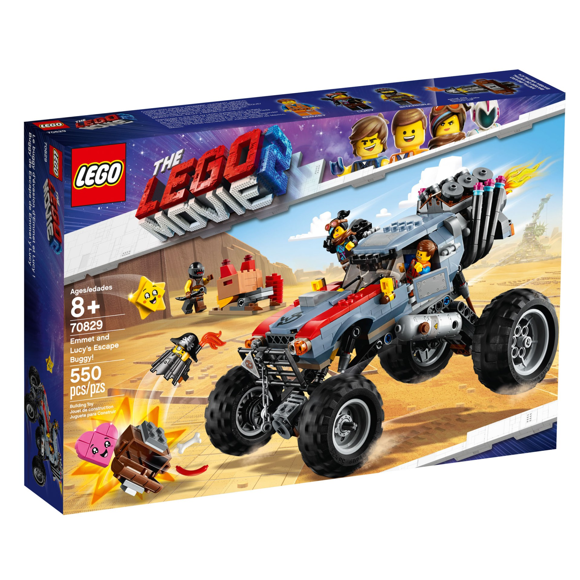 70829 — Emmet and Lucy's Escape Buggy