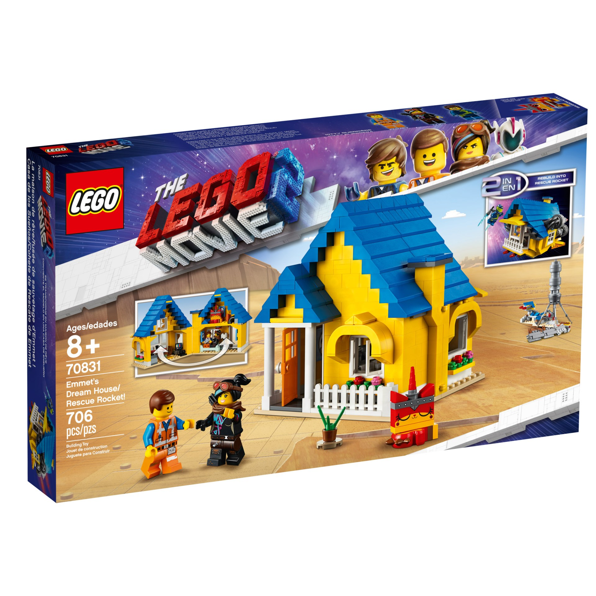 70831 — Emmet's Dream House/Rescue Rocket
