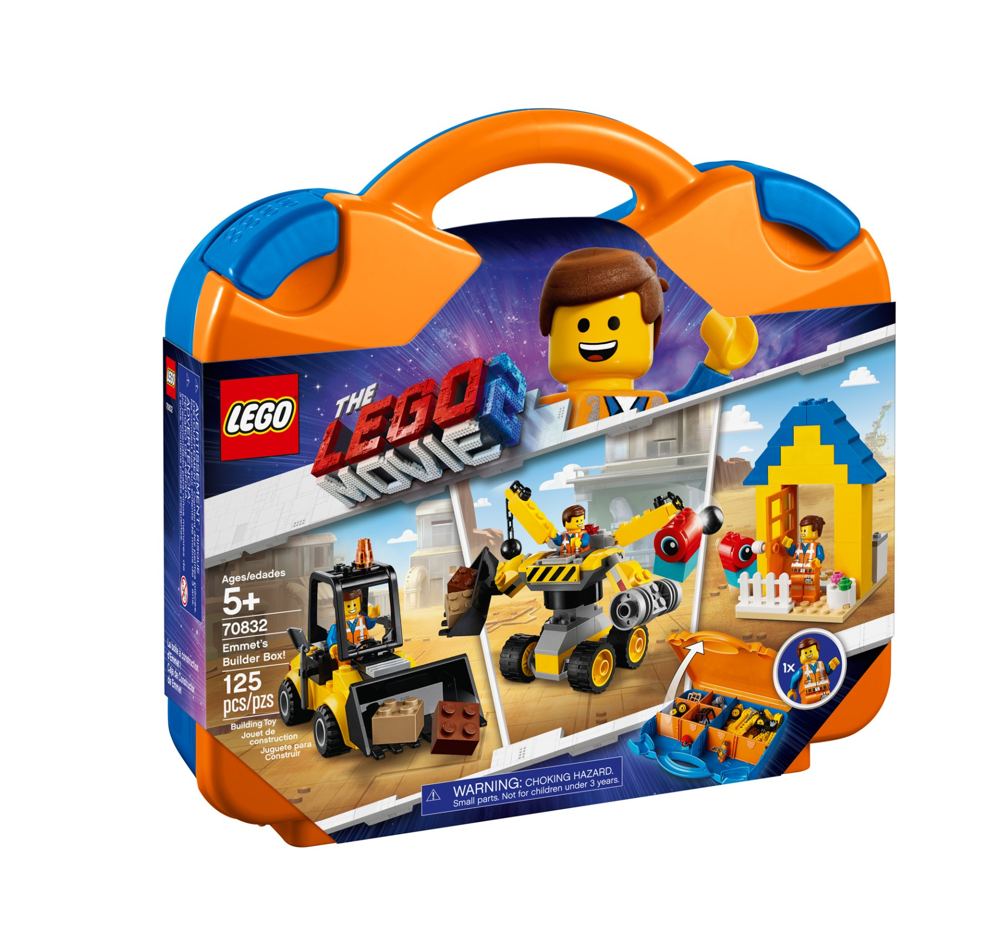 70832 — Emmet's Builder Box