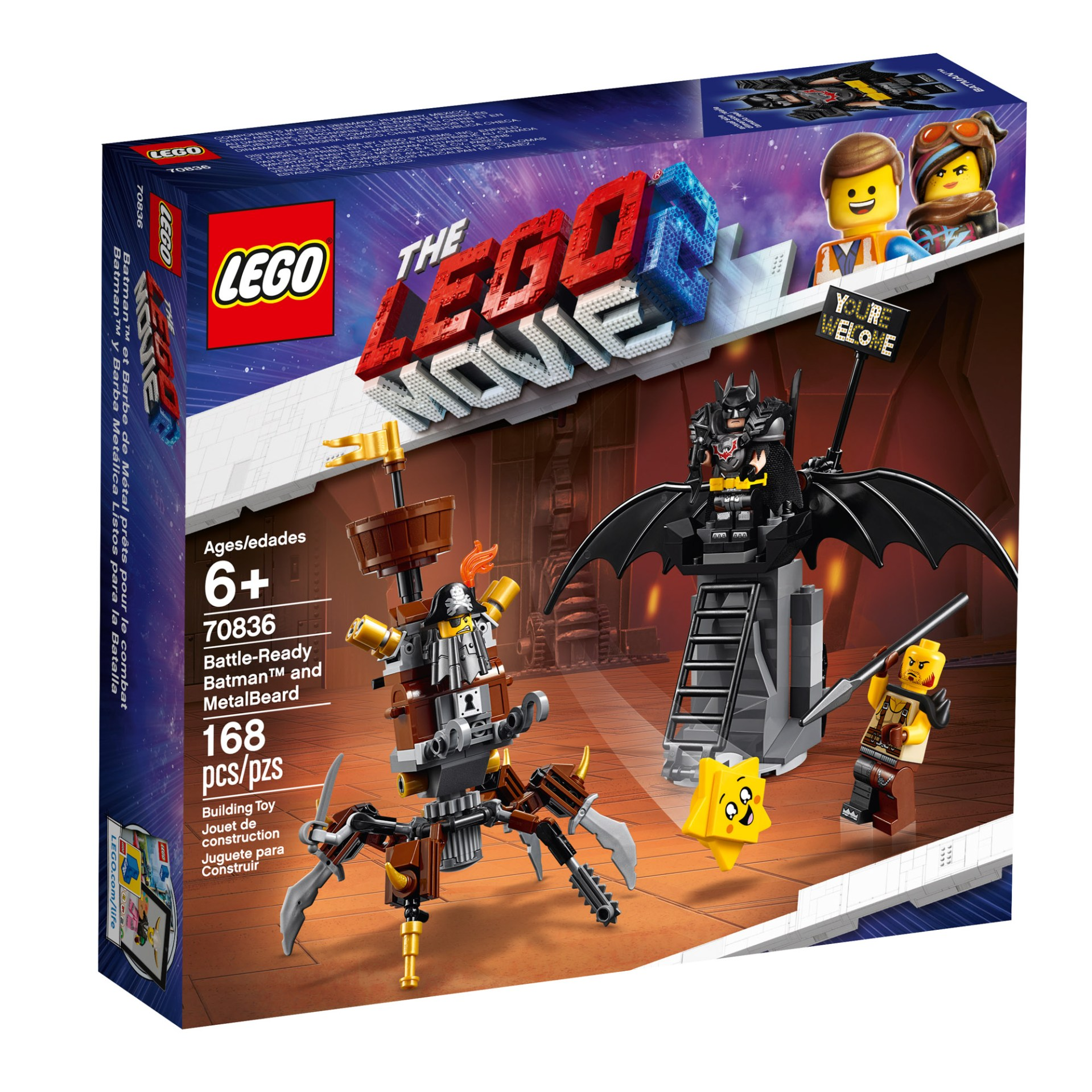 70836 — Battle-ready Batman and MetalBeard
