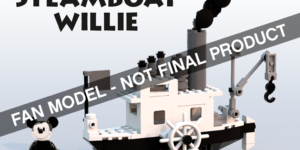 Steamboat Willie - LEGO Ideas