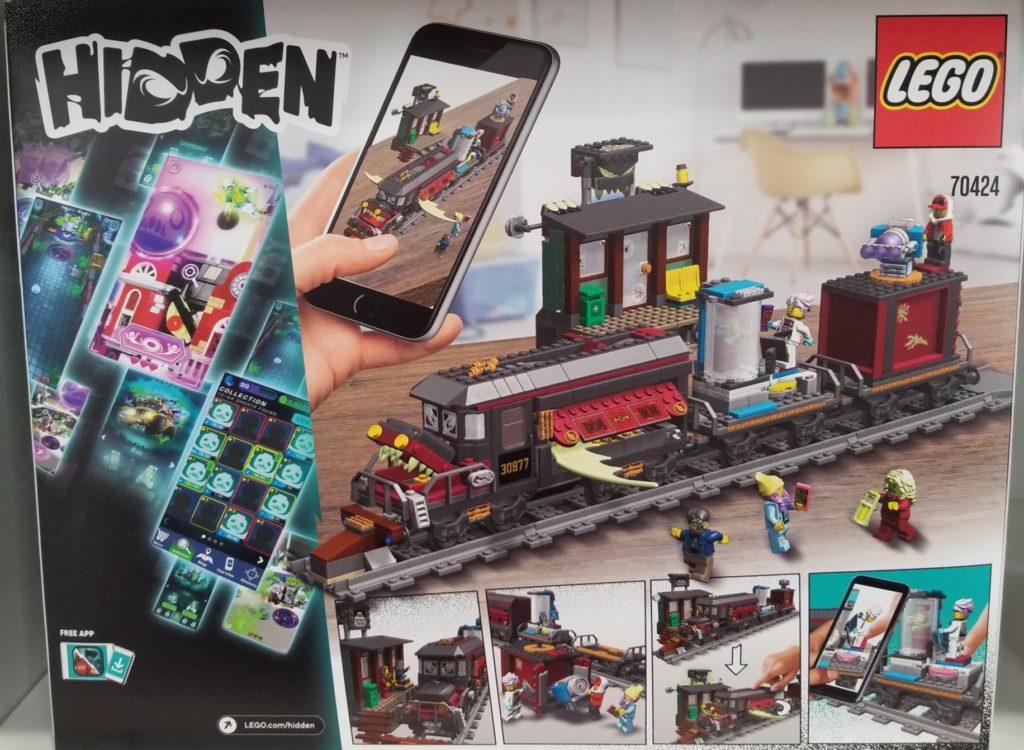 LEGO Hidden Side Train