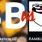 BricktasticBlog vs The Rambling Brick Speed Build Battle Logo