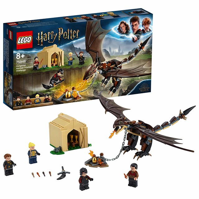 75946 Hungarian Horntail Triwizard Challenge