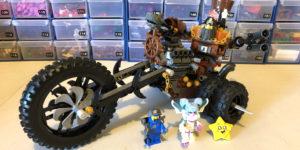 70834 MetalBeard's Heavy Metal Motor Trike!