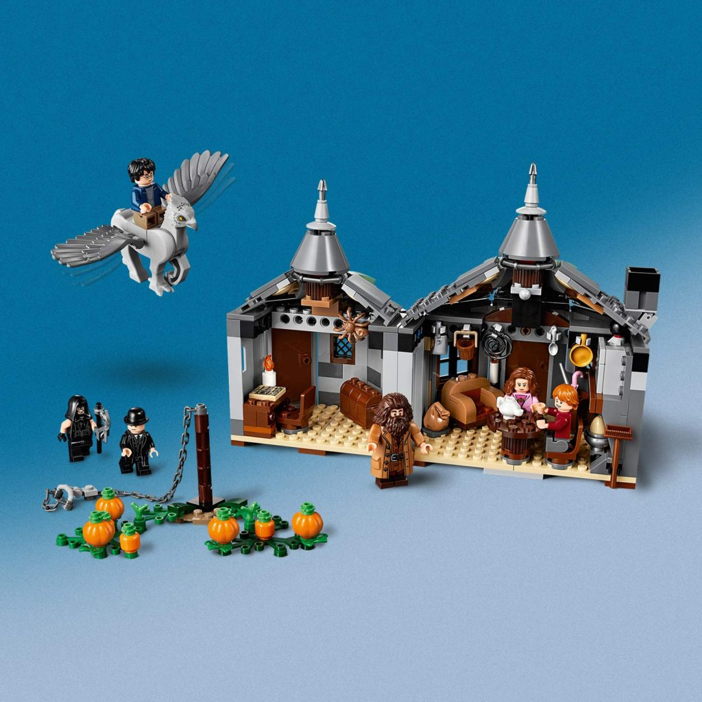 75947 Hagrid's Hut Buckbeak Rescue