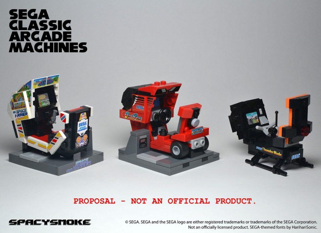 Sega C;assoc Arcade Machines - SpacySmoke