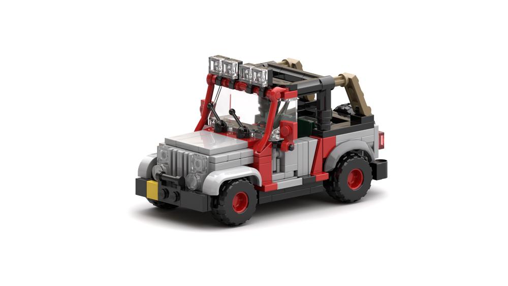 Jurassic Park - Park Staff Jeep