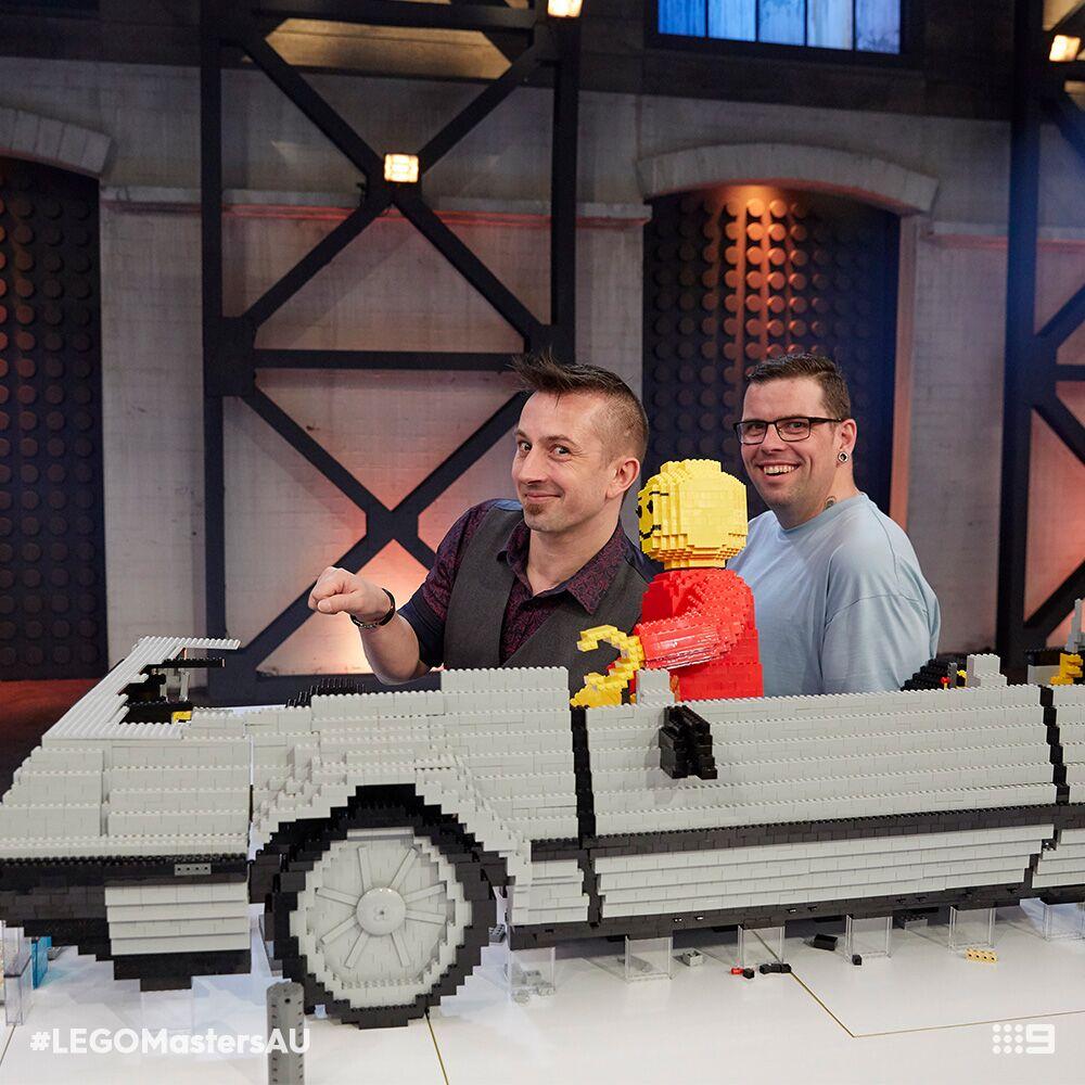 LEGO Masters - Delorean