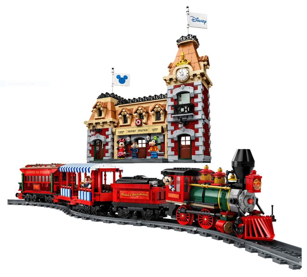 71044 Disney Train and Station