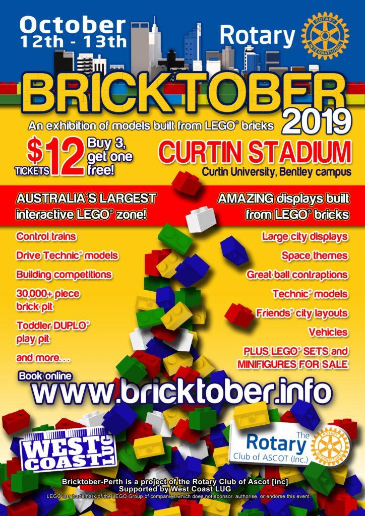Bricktober Perth 2019 Flyer