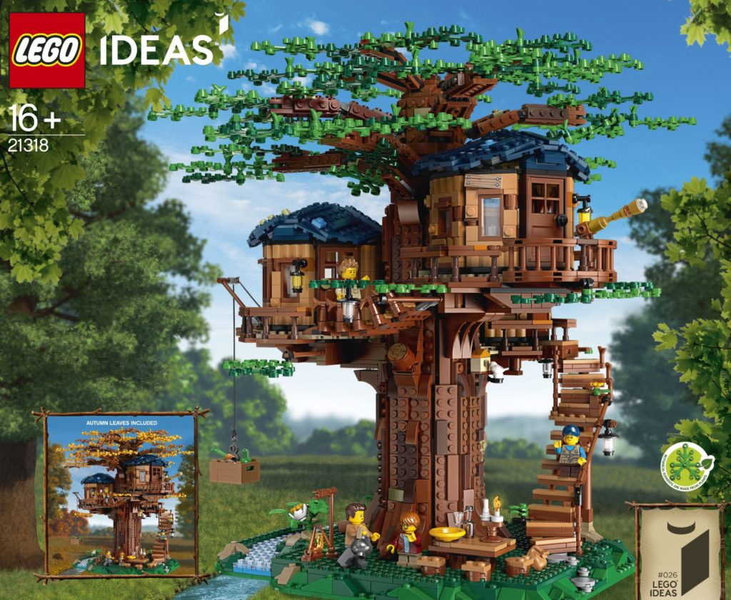 Picture of: 21318 Tree House Review Bricktasticblog An Australian Lego Blog