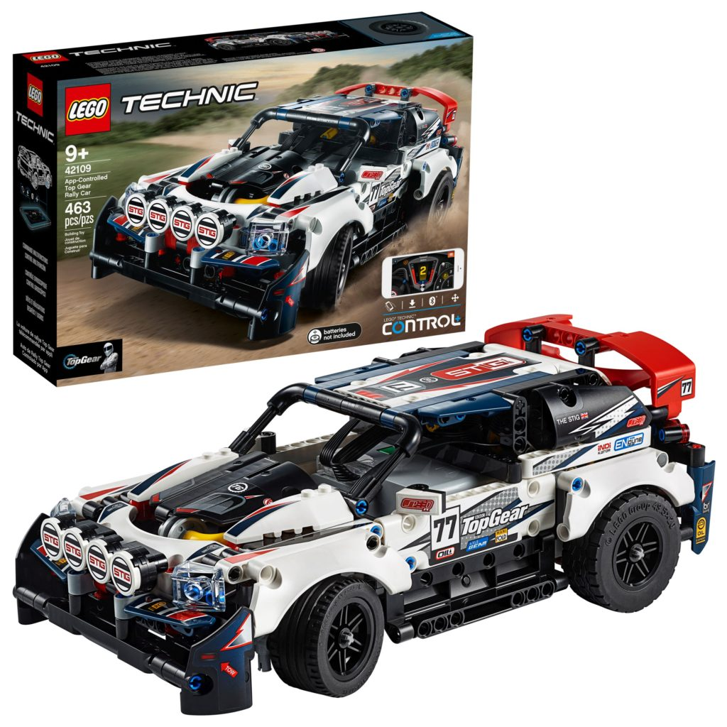 42109 Top Gear Rally Car