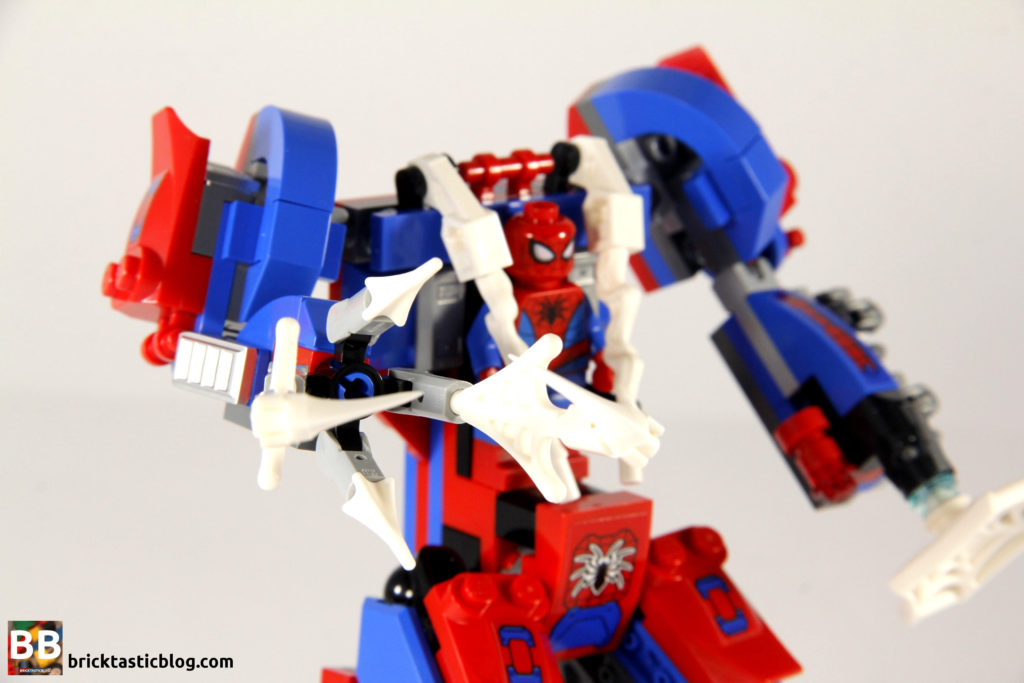 76115 Spider Mech vs Venom